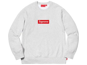 Supreme Box Crew Neck - Gray 6406e5795eef